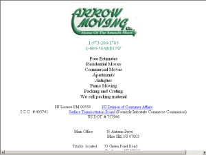 Arrow Moving Company, Inc.